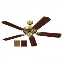 Sea Gull Canada 15030-02 - Quality Max & Energy Star 52 Inch Ceiling Fan in Polished Brass Finish