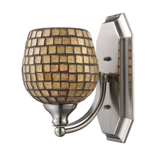 ELK Lighting 570-1C-GLD - Bath And Spa 1 Light Vanity In Polished Chrome A