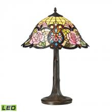 ELK Lighting 72081-1-LED - Rosedale 1 Light LED Table Lamp In Dark Bronze