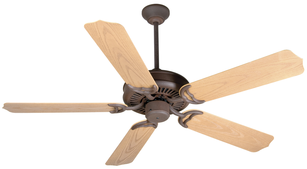 "Porch Fan 52"" Ceiling Fan Kit in Rustic Iron"