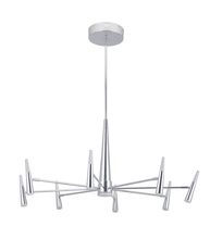Craftmade 43228-CH-LED - Vanguard 8 Arm LED Chandelier in Chrome