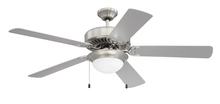 "Craftmade CES209BNK - Pro Energy Star 209 52"" Ceiling Fan in Brushed Polished Nickel (Blades Sold Separately)"