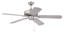 "Craftmade CES52BNK - Pro Energy Star 52"" Ceiling Fan in Brushed Polished Nickel (Blades Sold Separately)"