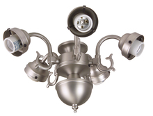 Craftmade F545CFL-AB - 5 Light Universal Fitter in Antique Brass
