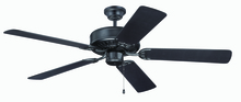 "Craftmade K11136 - Pro Builder 52"" Ceiling Fan Kit in Flat Black"