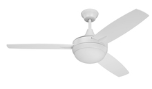 "Craftmade TG48W3 - Targas 48"" Ceiling Fan with Blades and LED Light Kit in White"