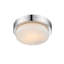 Golden Canada 1270-09 CH - Multi-Family Flush Mount in Chrome with Opal Glass