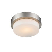 Golden Canada 1270-09 PW - Multi-Family Flush Mount in Pewter with Opal Glass