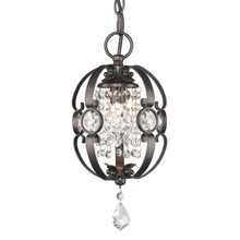 Golden Canada 1323-M1L EBB - Ella Mini Pendant in Brushed Etruscan Bronze