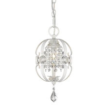 Golden Canada 1323-M1L FW - Ella Mini Pendant in French White