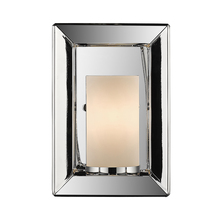 Golden Canada 2074-1W CH-OP - Smyth 1 Light Wall Sconce in Chrome with Opal Glass