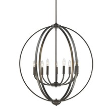 Golden Canada 3167-9 EB - Colson EB 9 Light Chandelier in Etruscan Bronze