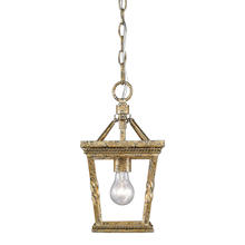 Golden Canada 4214-M1L LG - Davenport Mini Pendant in Luxe Gold