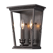 Golden Canada 4214-WSC EB - Davenport 2 Light Wall Sconce in Etruscan Bronze