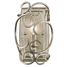 Golden Canada 4616-WSC WG - Colette 1 Light Wall Sconce in White Gold