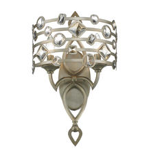 Golden Canada 6390-WSC WG - Coronada 2 Light Wall Sconce in White Gold with