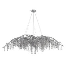 Golden Canada 9903-24 MSI - Autumn Twilight 24 Light Chandelier in Mystic Silver