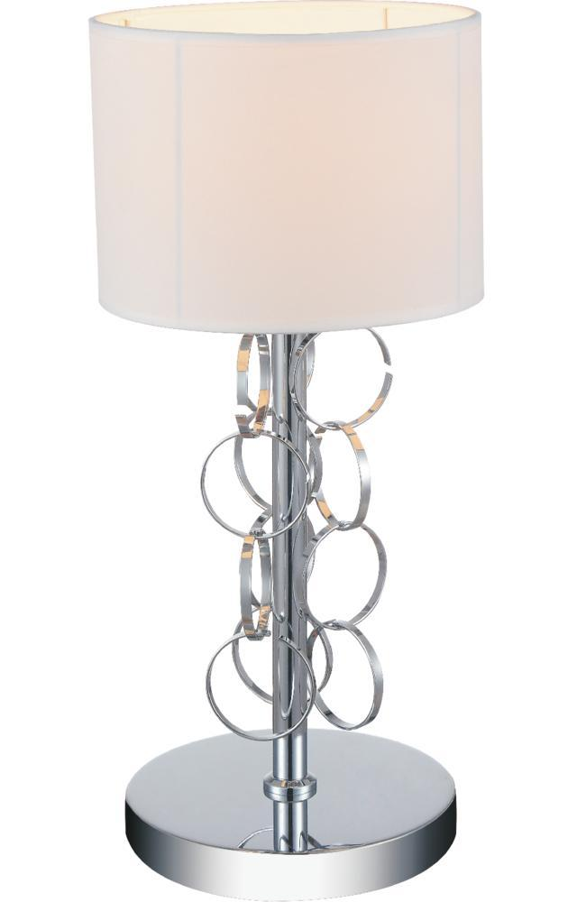 1 Light Chrome Table Lamp from our Chained collection