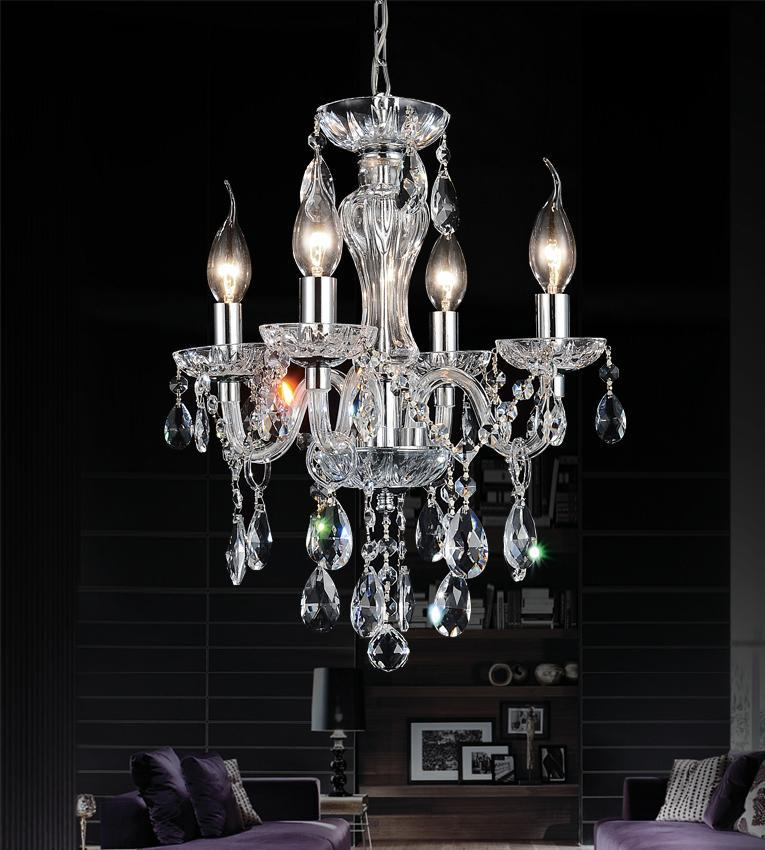 Richardson Lighting in Saskatchewan, Canada,  30631N0, 4 Light Chrome Up Chandelier from our Princeton collection, Princeton