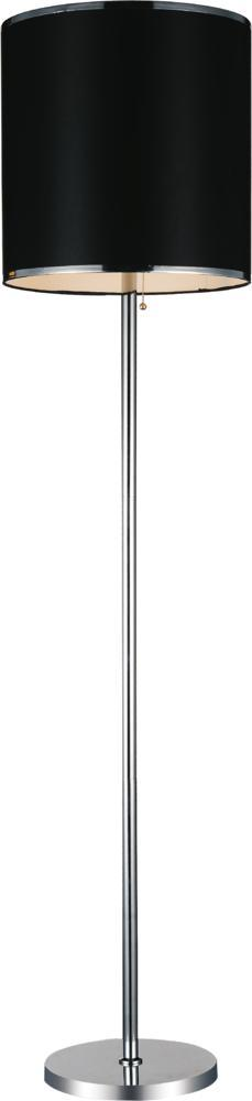 Richardson Lighting in Saskatchewan, Canada,  30637GA, 1 Light Chrome Floor Lamp from our Orchid collection, Orchid