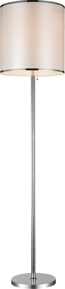 Richardson Lighting in Saskatchewan, Canada,  30637GC, 1 Light Chrome Floor Lamp from our Orchid collection, Orchid