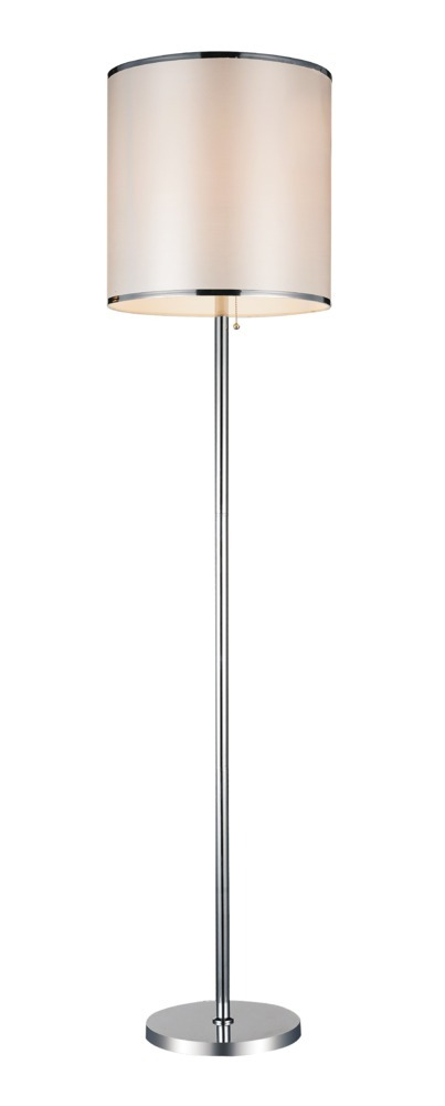 1 Light Chrome Floor Lamp from our Orchid collection