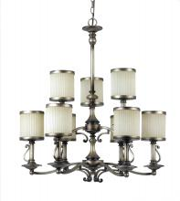 Amlite CC228/9CAP - 9 Light Chandelier