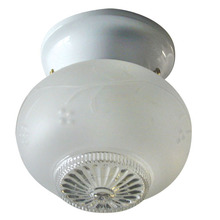 Canarm ICL1211 - Ceiling, ICL12 WH, 1 Light, Frosted Glass, 60W Type A
