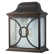 Canarm IOL9213 - Outdoor, IOL92 ORB, 1 Bulb Outdoor Lantern, Frosted Glass, 60W Type A or B
