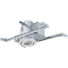 "Canarm RN4NC2TGWH - Recessed, RN4NC2TG WH, 4"" Non-Insulated with Tilting Gimbal Trim (T4TGO2WH), New Constrution, 1"