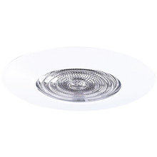"Canarm T5SBWH-A - Recessed, 5"" Step Baffle Trim for Non-IC or IC, WH, 75W PAR30L or 65W BR30 for Non IC,50W PAR30L"