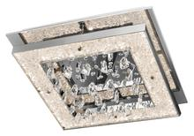 Elan 83410 - Cool White Led 1 (Light) Square Flush Mount