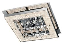 Elan 83430 - Warm White Led 1 (Light) Square Flush Mount