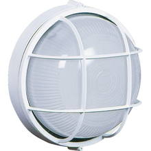 Artcraft AC5661WH - Marine Round 1 Light  White Outdoor Light