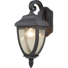 Artcraft AC8901BK - Oakridge 1 Light AC8901BK Black Outdoor Light