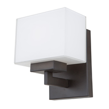 Steven & Chris SC13187OB - Cube Lights SC13187OB 1 Light Wall Sconce