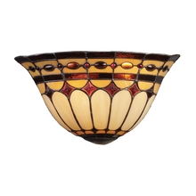 ELK Lighting 08032-BC - Diamond Ring 2 Light Wall Sconce In Burnished Co