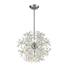 ELK Lighting 11893/7 - Snowburst 7 Light Chandelier In Polished Chrome