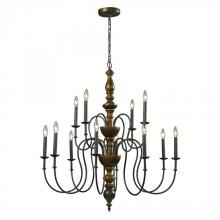 ELK Lighting 14187/8+4 - Chandelier