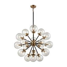ELK Lighting 14435/18 - Boudreaux 18 Light Chandelier In Matte Black And