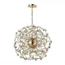 ELK Lighting 31547/16 - Zebula 12 Light Chandelier In Polished Gold