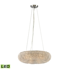 ELK Lighting 45291/6-LED - Crystal Ring 6 Light LED Chandelier In Polished