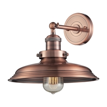 ELK Lighting 55030/1 - Newberry 1 Light Wall Sconce In Antique Copper