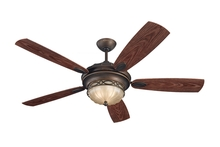 "Monte Carlo 5ED56RBD - 56"" Drawing Room Fan - Roman Bronze"